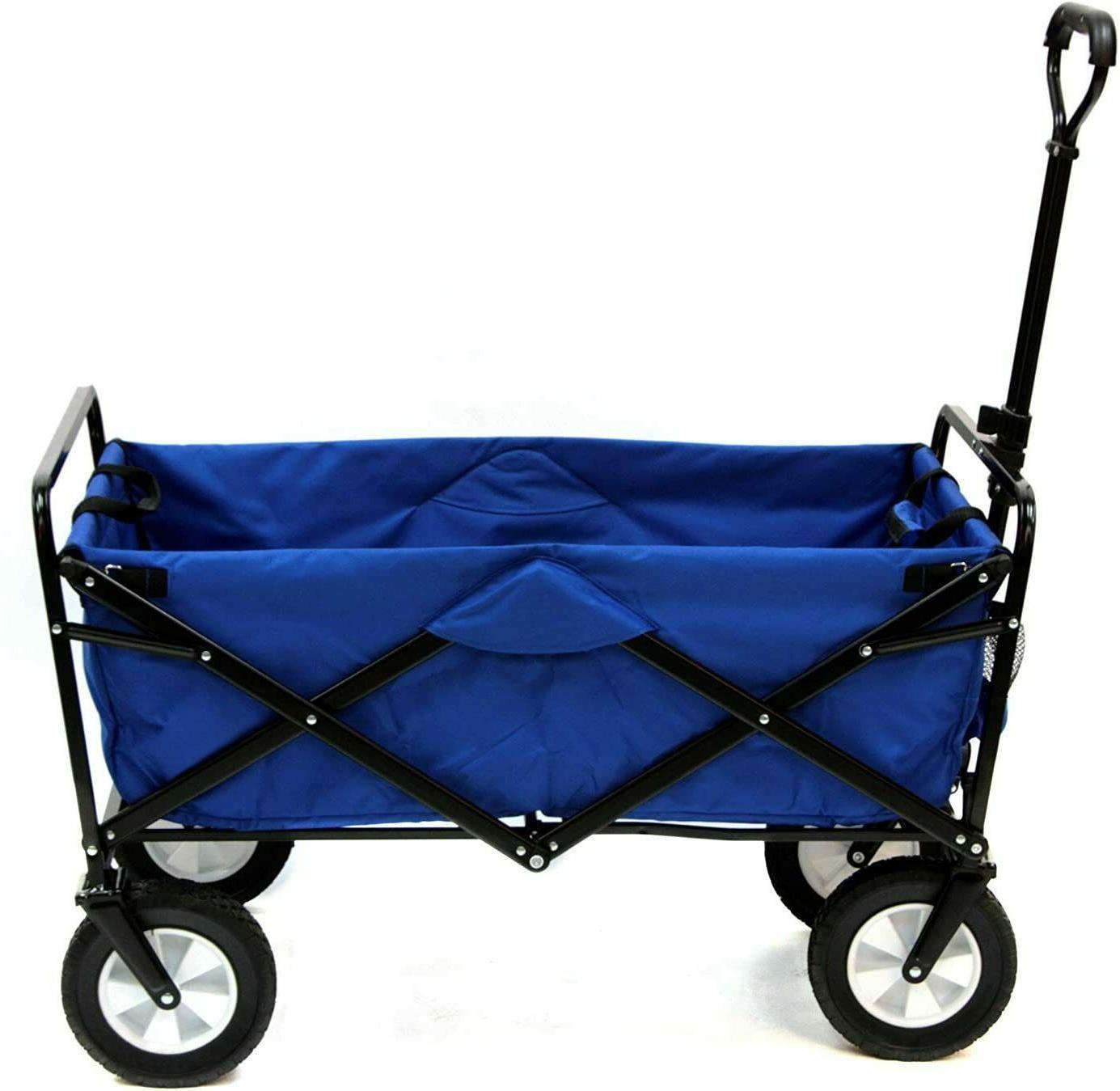 garden carts collapsible folding outdoor utility wagon
