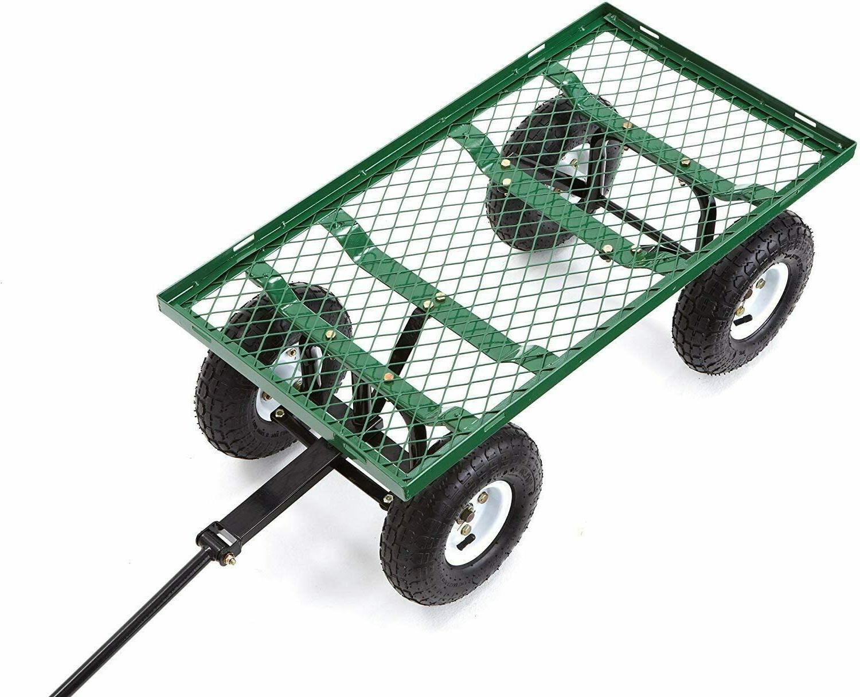 Garden Carts Yard Wagon Cart Lawn Cart Outdoor Duty