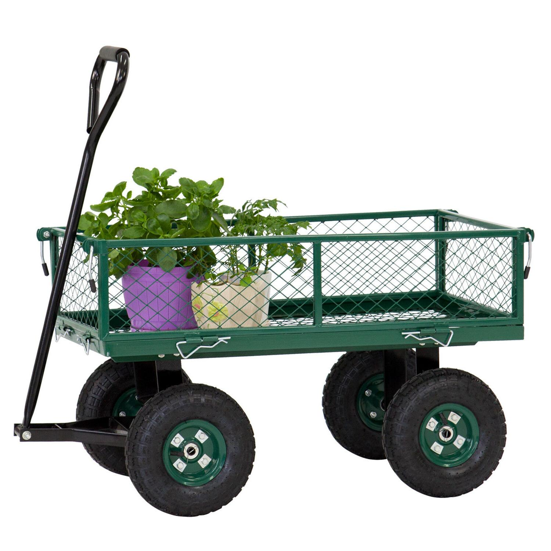 650LBS Garden Wheelbarrow Yard Duty w/