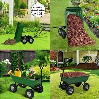 Garden Yard Dumper Barrow Tool