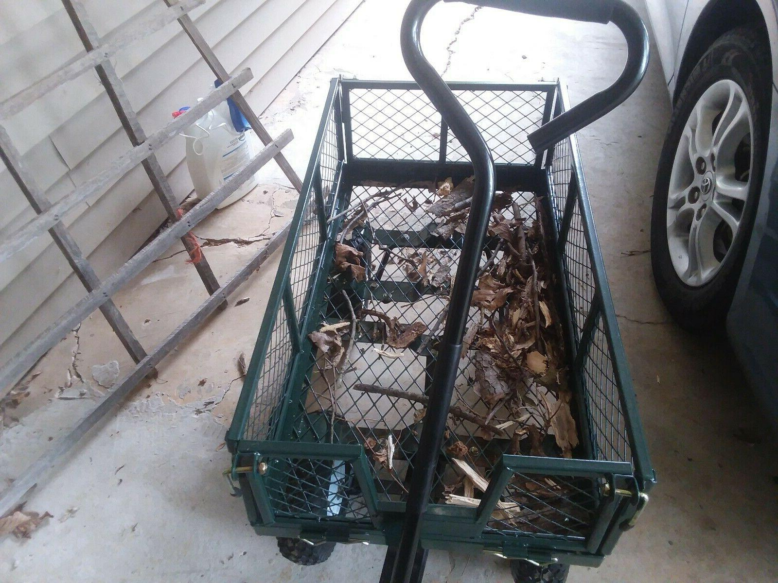 Garden Yard Lawn Cart Dumper Utility barrow Duty