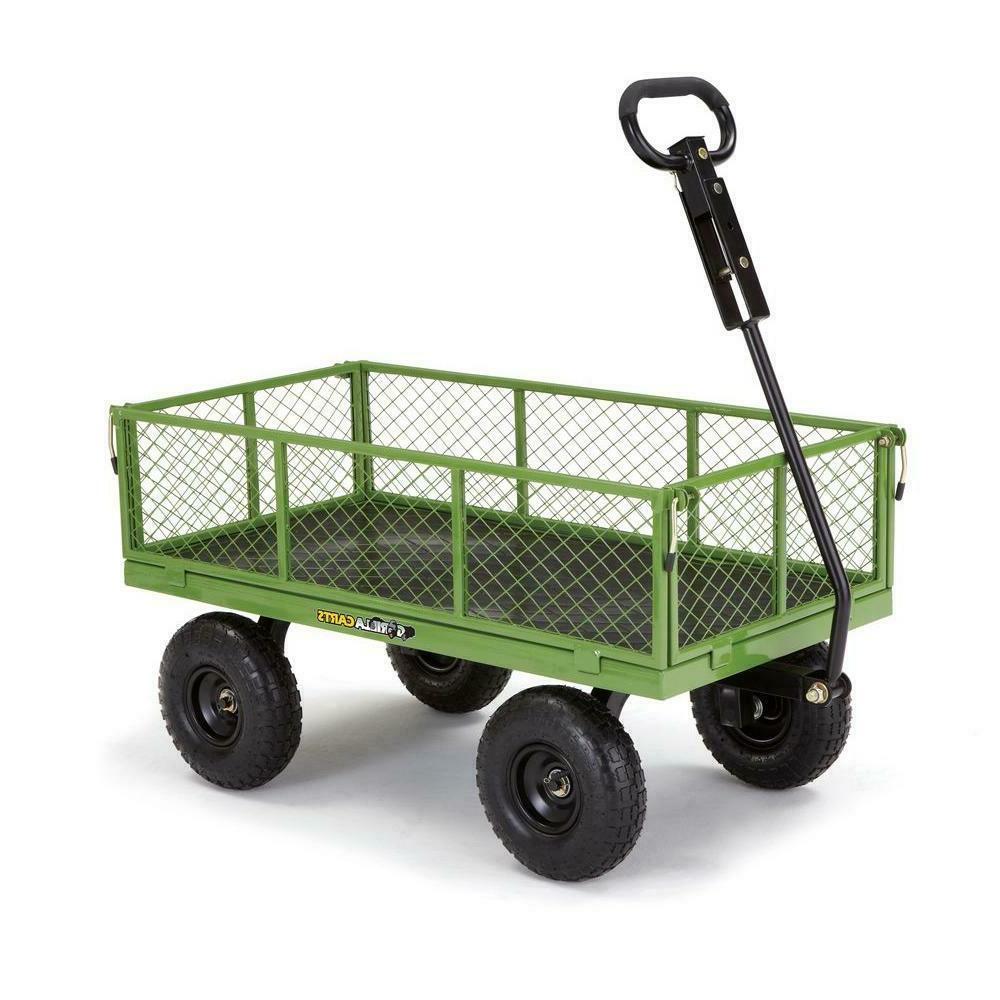 gor801 800 lb steel utility garden cart