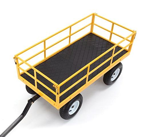 Gorilla Heavy-Duty Utility Cart Removable Sides and