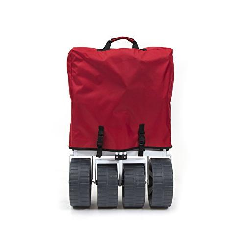 Mac Sports Heavy Collapsible Folding All Utility - Red/White