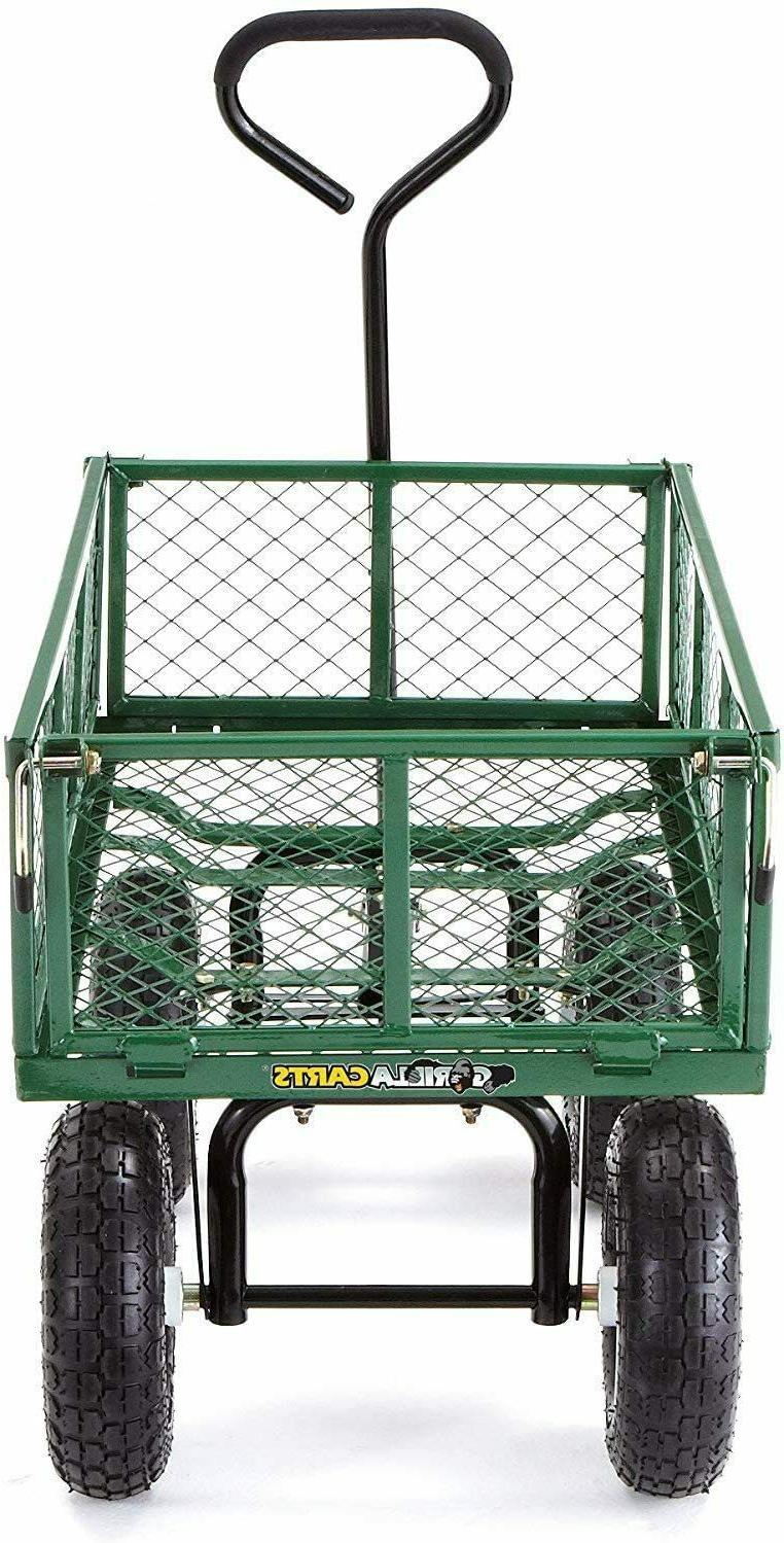 Garden Dump Wagon Cart Cart Duty