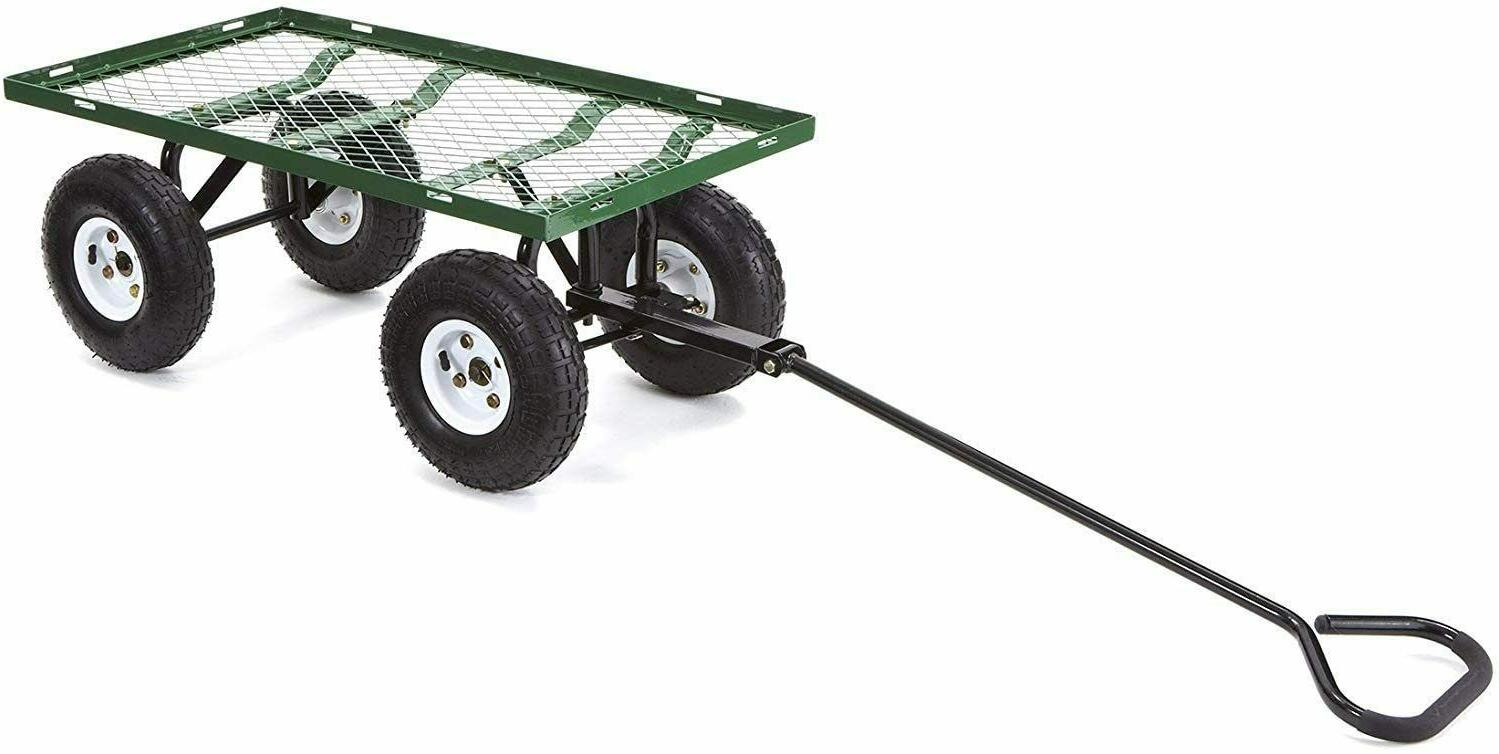 Garden Wagon Cart Lawn Utility Cart Duty
