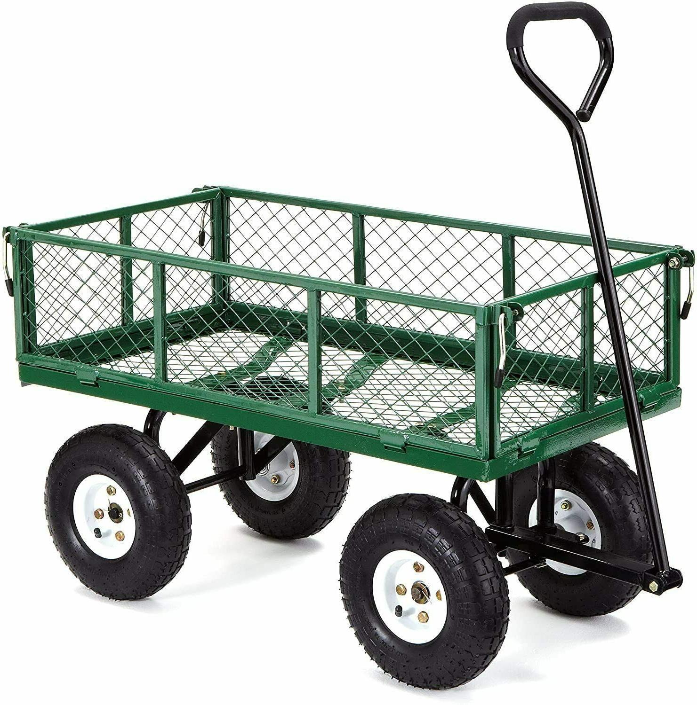 garden carts yard dump wagon cart lawn