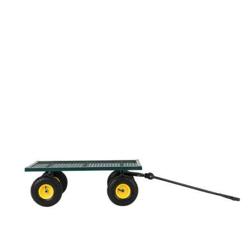 660LBS Duty Garden Wagon Nursery Cart
