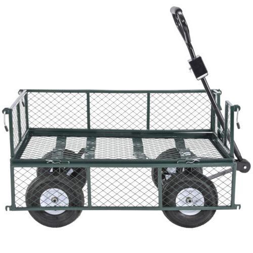 Garden Cart Wheelbarrow Trailer
