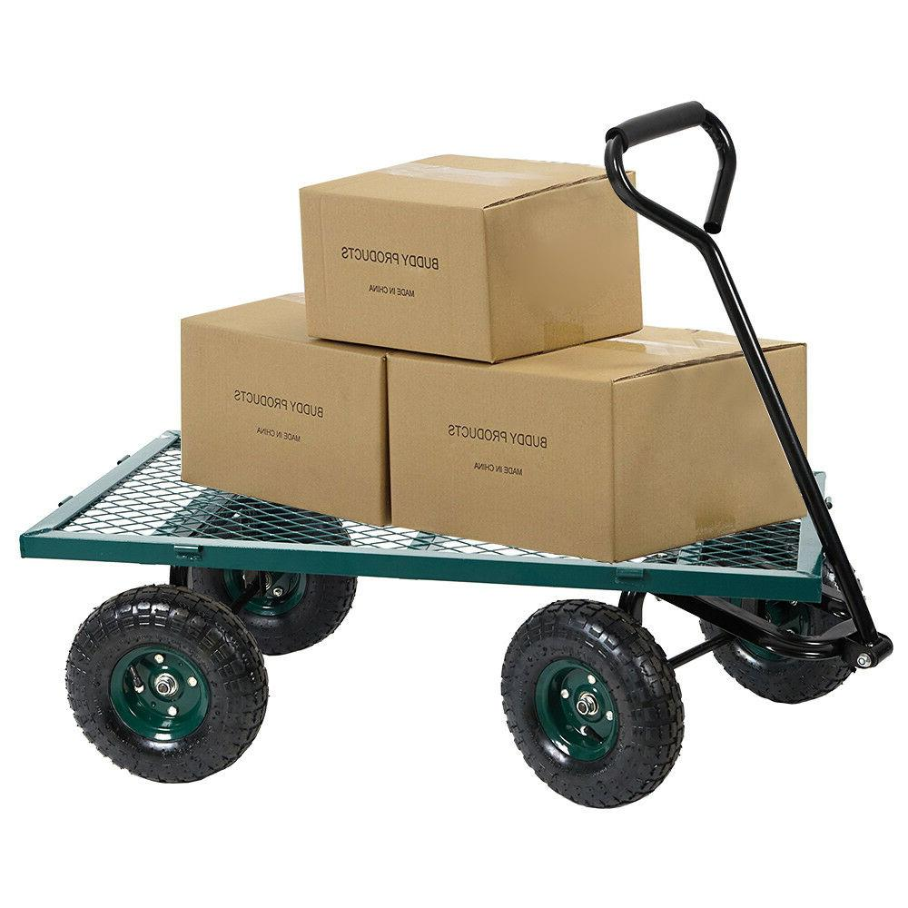 Home&Garden Cart Steel Mesh/Wagon Removable 550Lbs