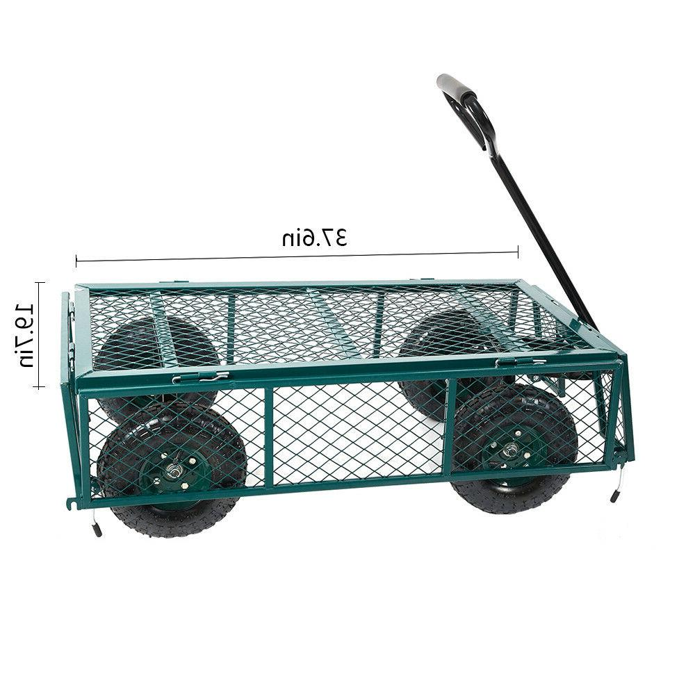 Home&Garden Mesh/Wagon with Sides 550Lbs