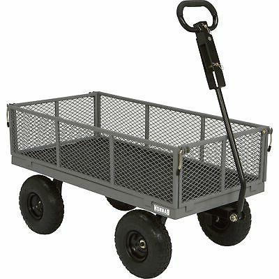 industrial grade steel wagon 800lb cap 40