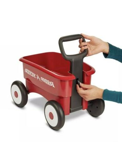 Radio Flyer My 2-in-1 Wagon Ride Red