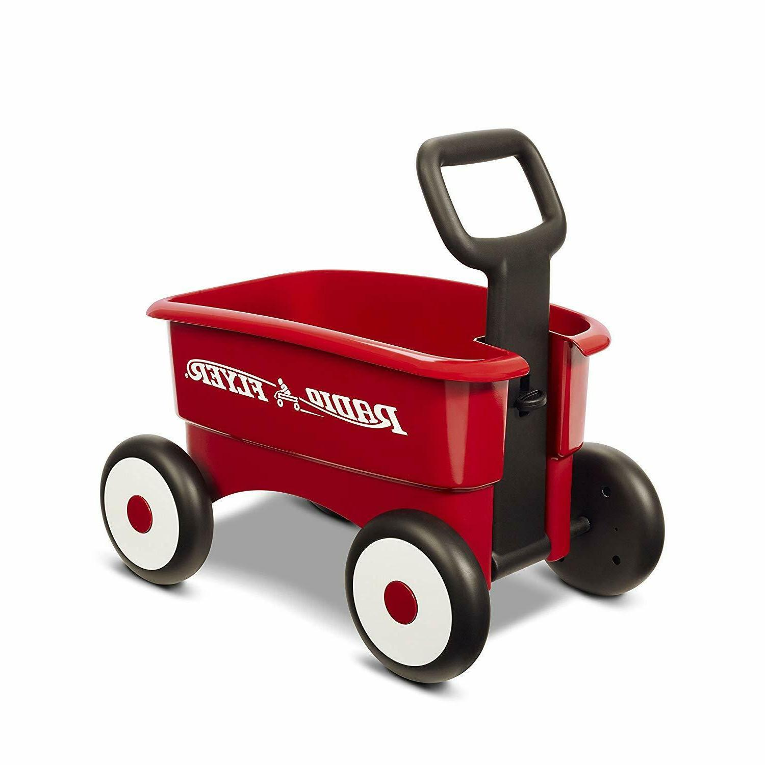 Radio 2-in-1 Wagon, Red