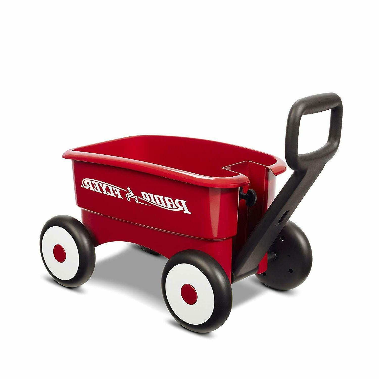 Radio 1st 2-in-1 Wagon, Red