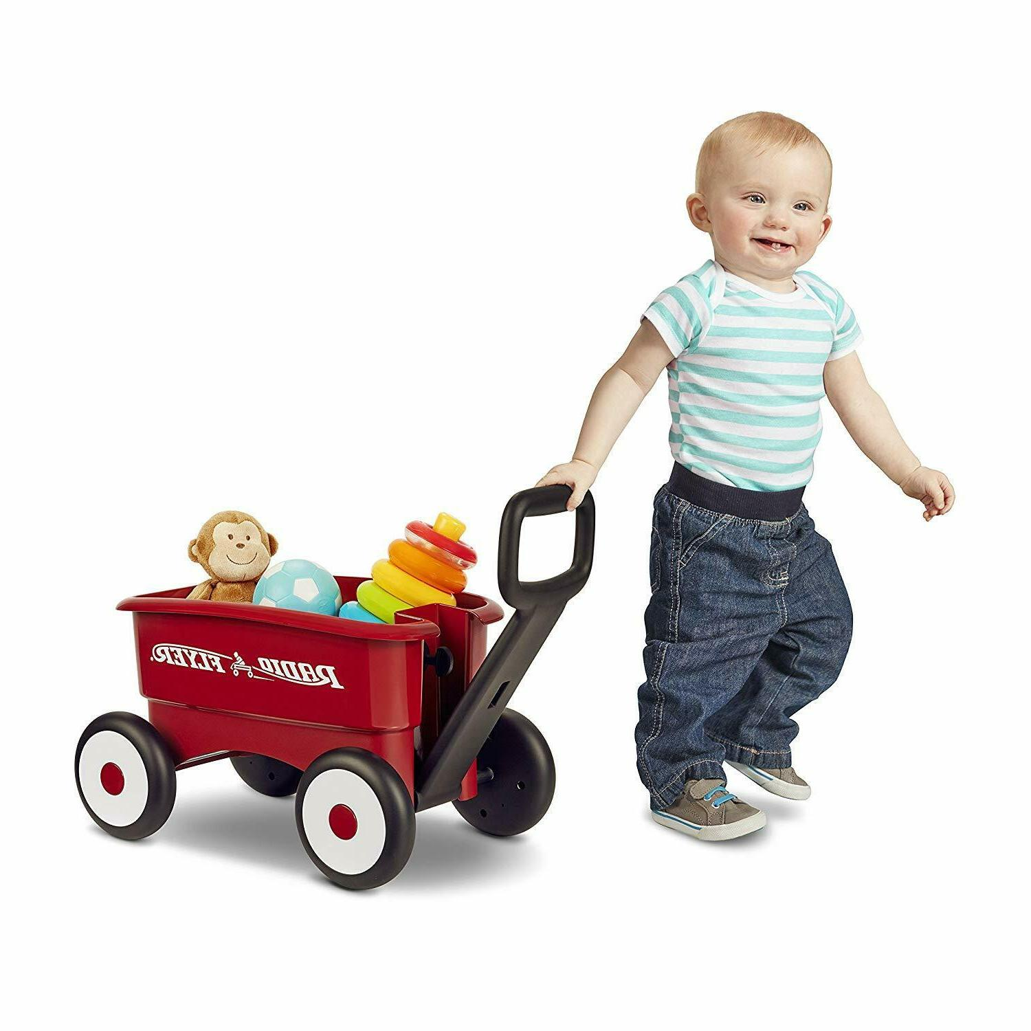 Radio My 2-in-1 Wagon, Red