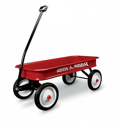 new original classic red wagon sturdy steel