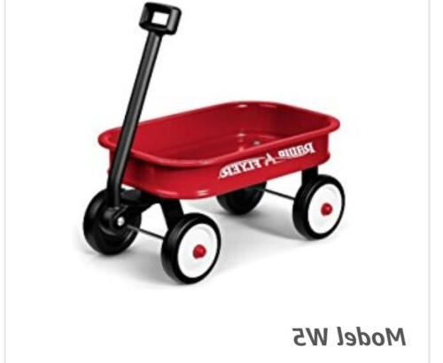 NIB Flyer Little Red Toy Wagon #5