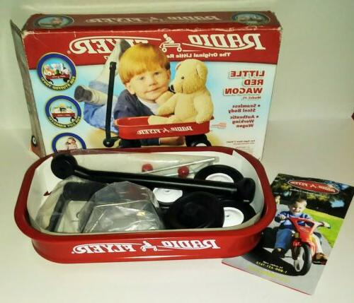 nib little red toy wagon model 5
