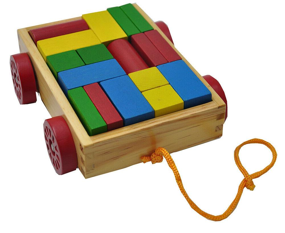 PBS Wooden Building Puzzle Kids