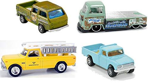 Pickup Selection from and Hot - Close Entertainment Ford F-250, Pickup, Color Changers Transporter, and Meta Baby