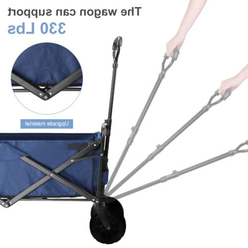 Pull Heavy All Terrain Collapsible Folding Cart
