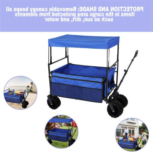 Pull Push Heavy All Collapsible Cart