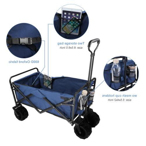 330lbs Wagon Collapsible Cart Camping