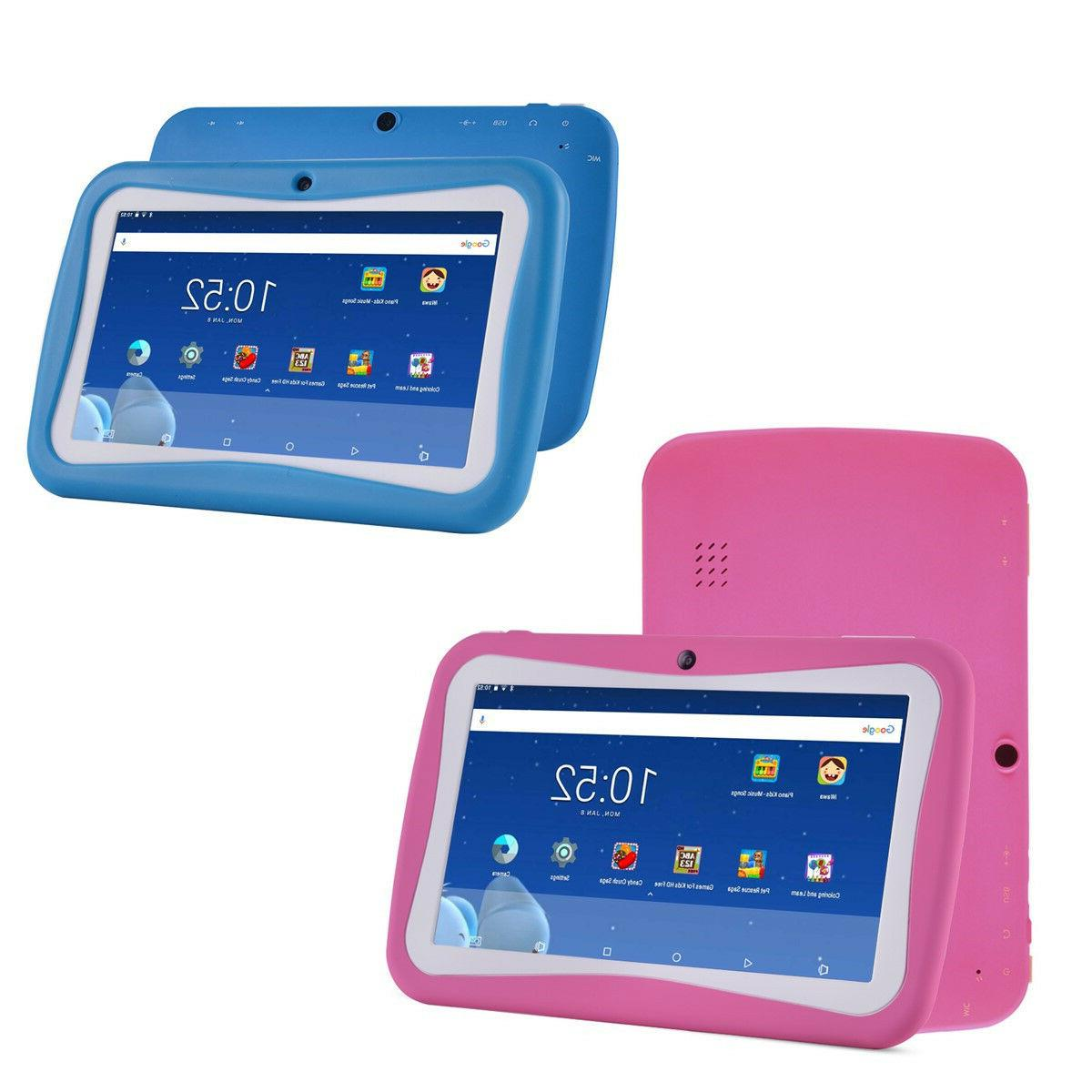 quad core 7 inch kids tablet pc