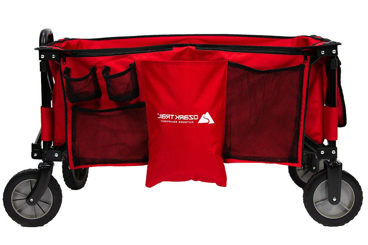 Ozark Trail Outdoor Folding Wagon/Carrier Handle