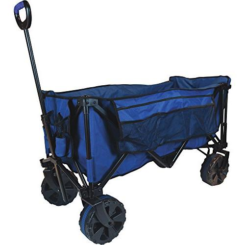 quad folding wagon