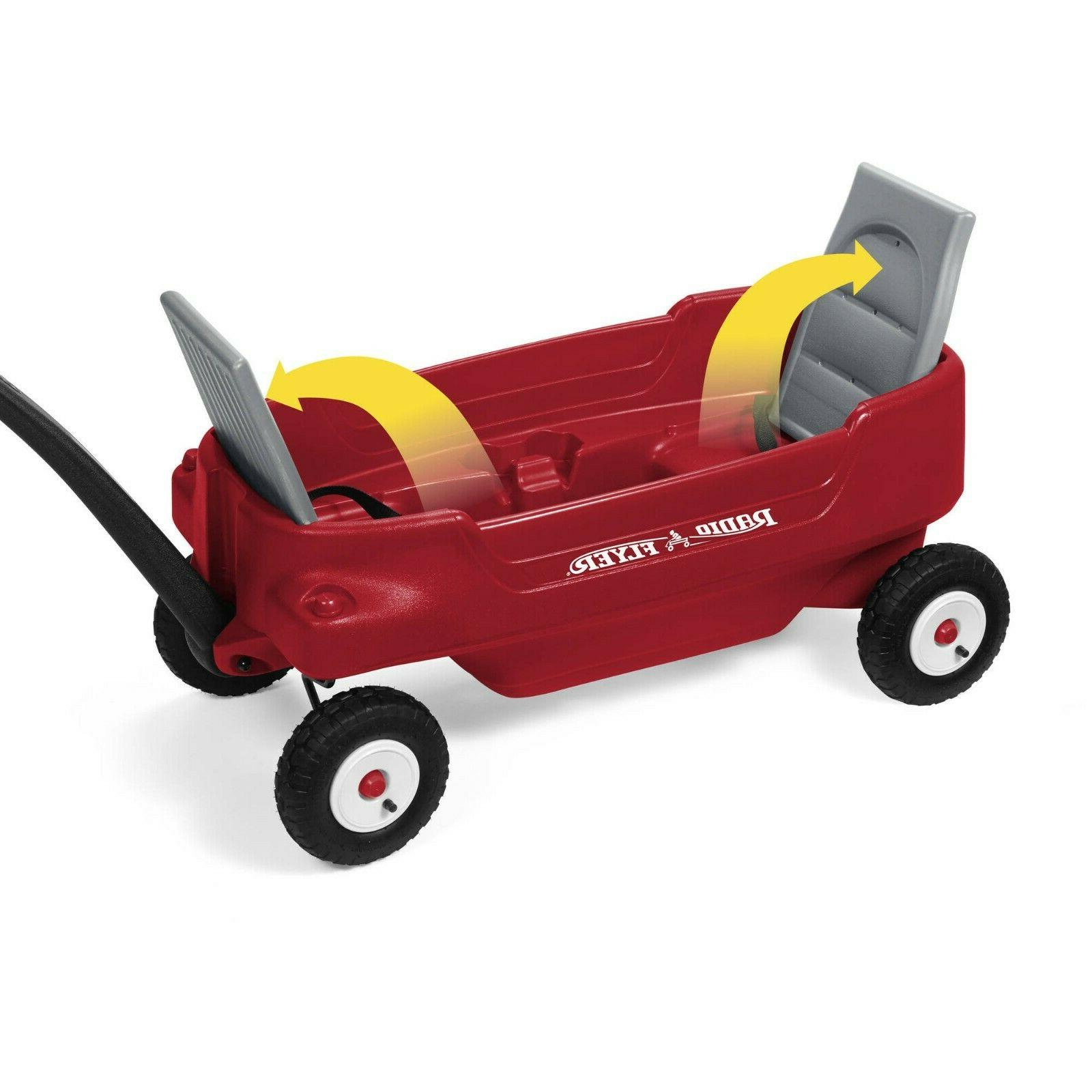 Radio Flyer, Deluxe Pathfinder Wagon with Air All