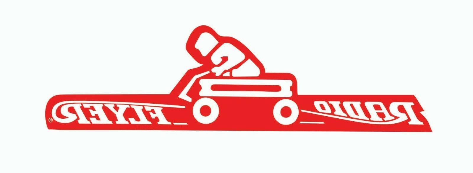 radio flyer little red wagon sticker vinyl