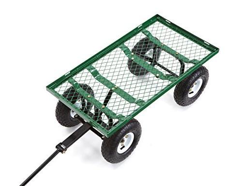 Gorilla Carts GOR400-COM Garden with Sides, 400-lbs. Capacity,