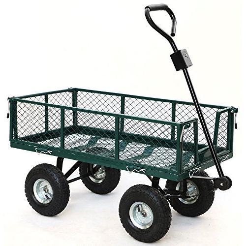 steel utility cart 800 lbs