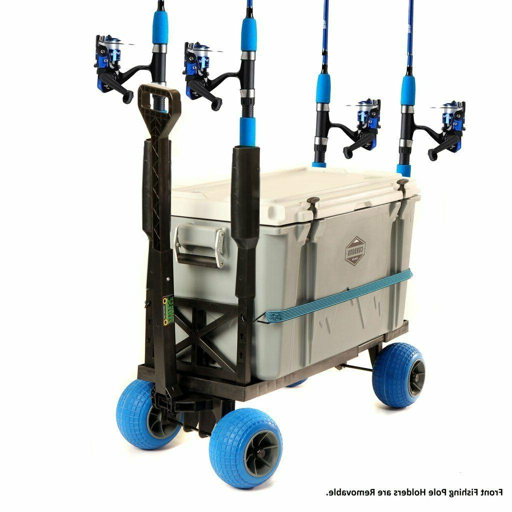 Surf Wheel Rolling Cooler Wagon