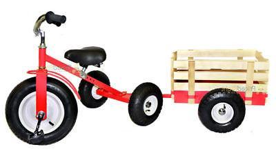 with Wagon Trike Set Pull Along Kids