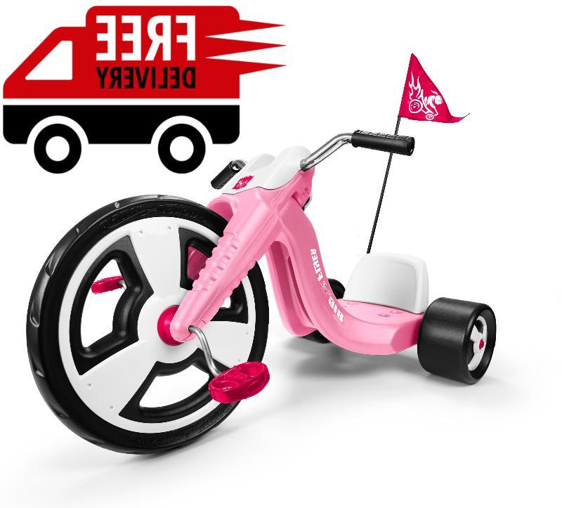tricycle big wheels trike pink