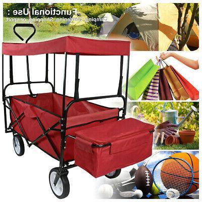 Utility Folding Cart Garden Kid Beach Sport