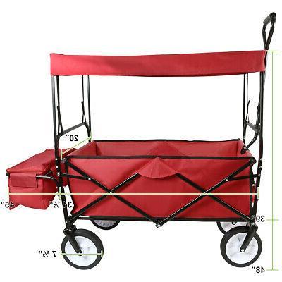 Utility Folding Cart Garden Kid Beach Toy