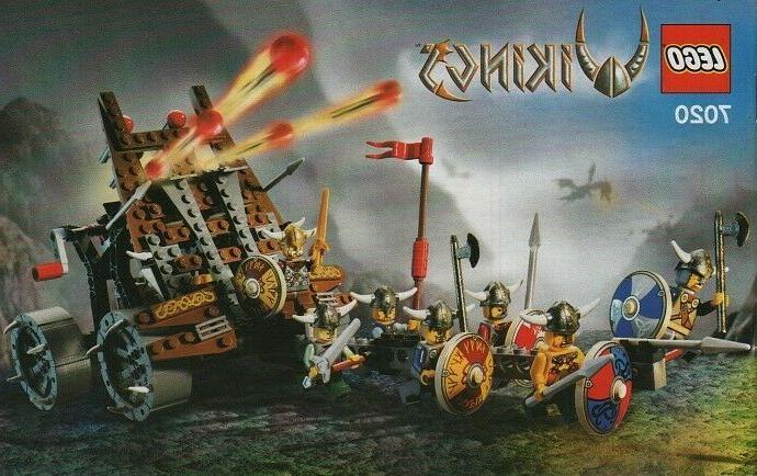 LEGO with Heavy Artillery