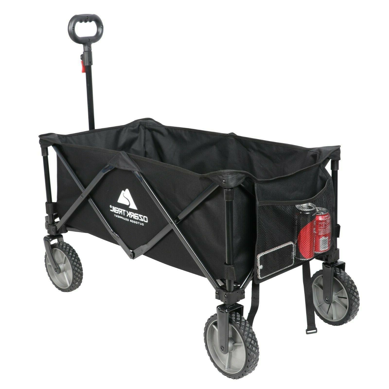 wagon cart folding collapsible garden beach utility