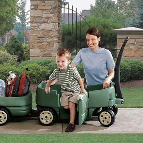 Step2 Wagon Plus-Kids Ride Toddlers