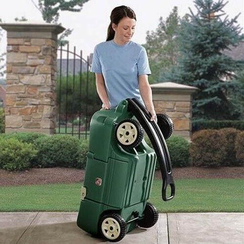 Step2 Plus-Kids Pull Wagon Green Ride Toddlers New