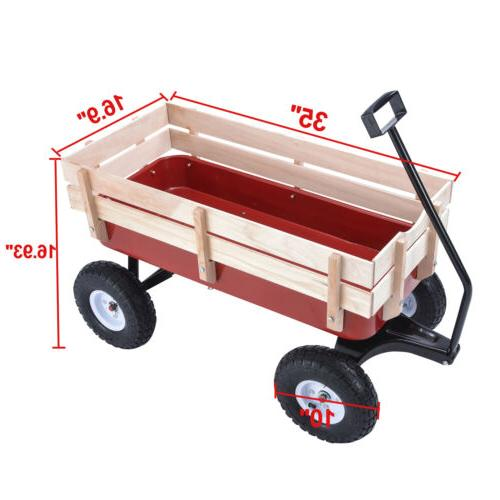 OUTDOOR PULLING KID RAILING RED