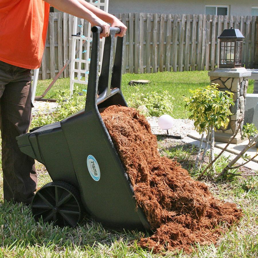 Wheelbarrow Cart Wagon Garden Lawn Yard Dirt Dump