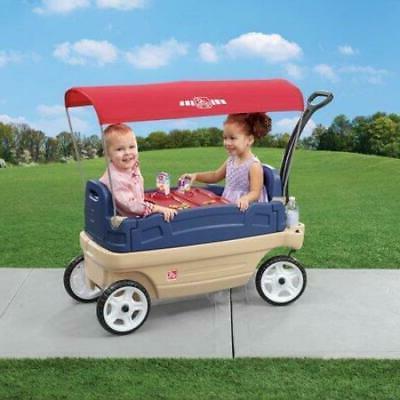 whisper ride touring wagon plastic canopy wagon