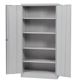 Sandusky Lee RTA7000-05 Dove Gray Steel SnapIt Storage Cabin