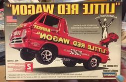 Little Red Wagon 67 Dodge Drag Race Lindberg Model 72158 1:2