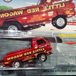 Johnny Lightning Little Red Wagon Bill Golden's Famous 65 Do